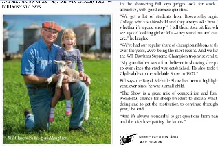 Adelaide Show Magazine excerpt